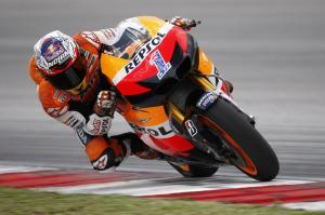 Casey Stoner saat masih di Repsol Honda, MotoGP.