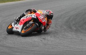 Marc Marquez di sesi tes resmi MotoGP Sepang, 6 Februari 2013. Sumber: Crash