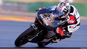 Maverick Vinales di sesi tes resmi Moto3 Valencia, Februari 2013. Sumber: MotoGP