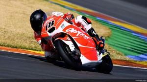 Nico Terol di sesi tes resmi Moto2 Valencia, 12 Februari 2013. Sumber: MotoGP