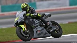 Valentino Rossi di sesi tes resmi MotoGP Sepang, 5 Februari 2013. Sumber: MotoGP