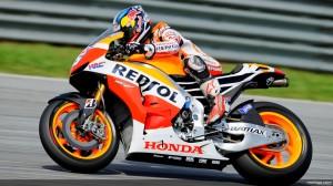 Dani Pedrosa di sesi tes resmi MotoGP Sepang 2, 28 Februari 2013. Sumber: MotoGP